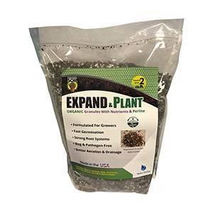 Wonder Soil Expand & Plant Organic Coir Granules with Perlite, 10 lbs