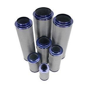 "Active Air Carbon Filter, 4"" x 14"", 215 CFM"