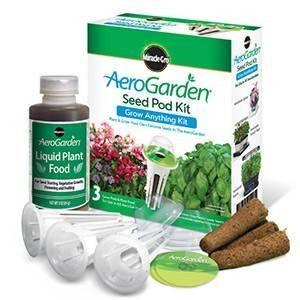 AeroGarden 3-Pod Grow Anything 1-Season Kit