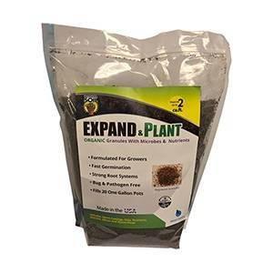 Wonder Soil Expand & Plant Organic Coir Granules, 10 lbs